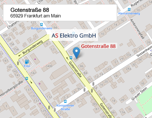 AS Elektro GmbH Map